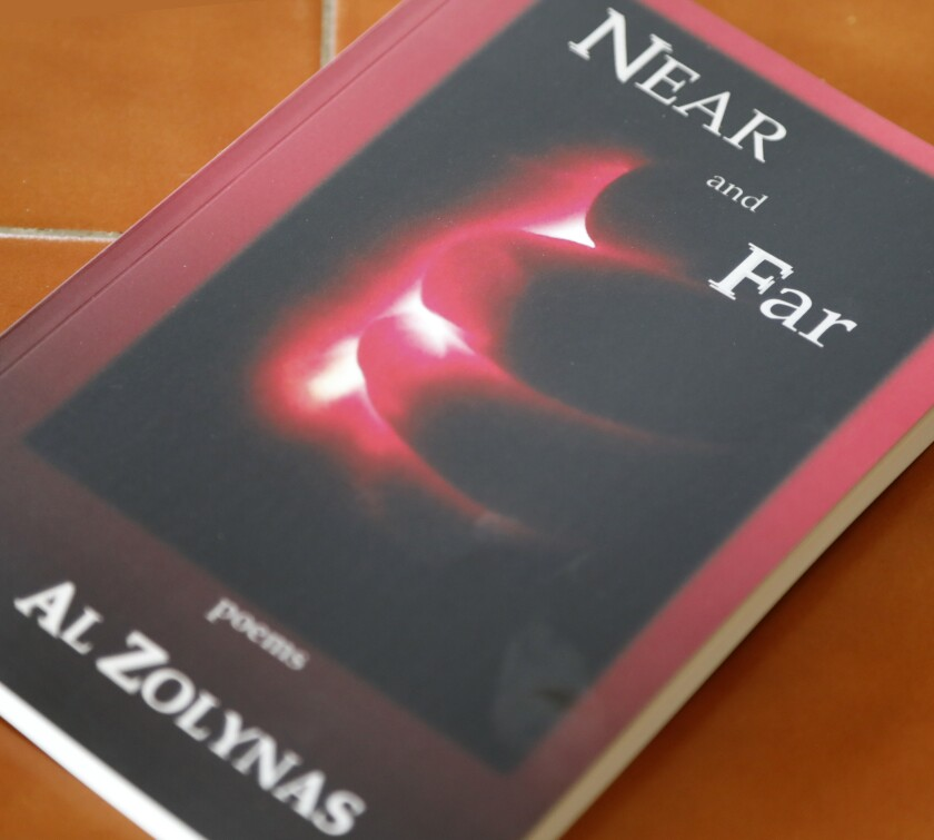 """Poet Al Zolynas' """"Near and Far"""" is his fourth collection of poems."""