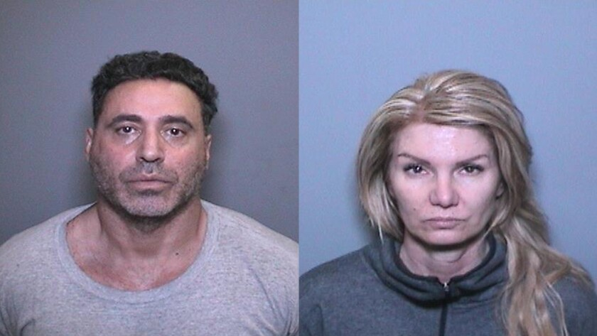Fadi Chaiban, 53, and Tina Saunders, 53, of Ladera Ranch, are accused of operating a brothel in Irvine.