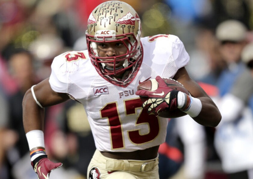 Jalen Ramsey during his playing days at Florida State.