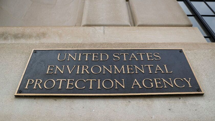 The Environmental Protection Agency headquarters in Washington