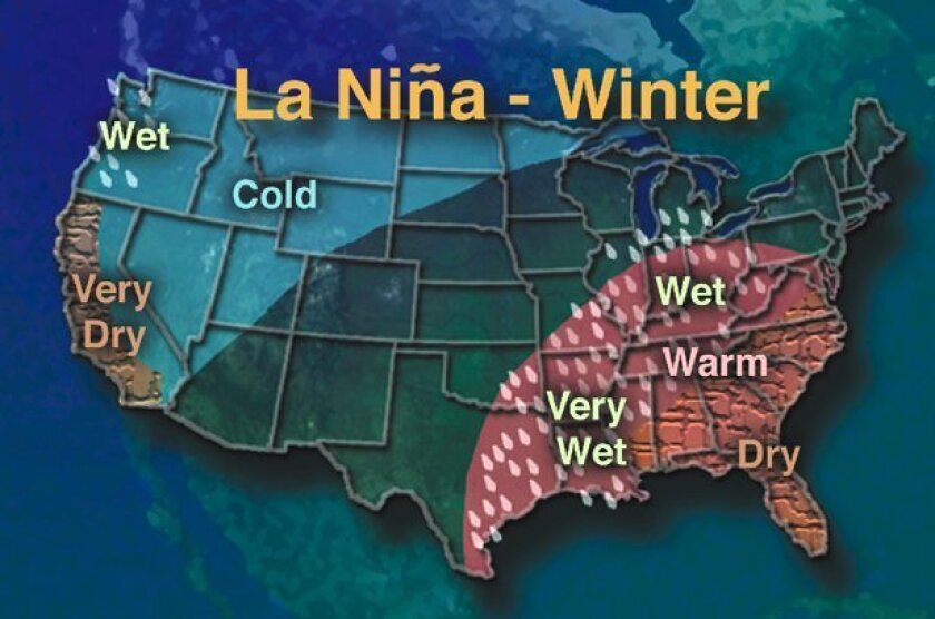 How La Nina might play out.