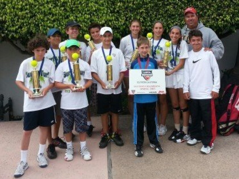 Surf and Turf 14 and under team