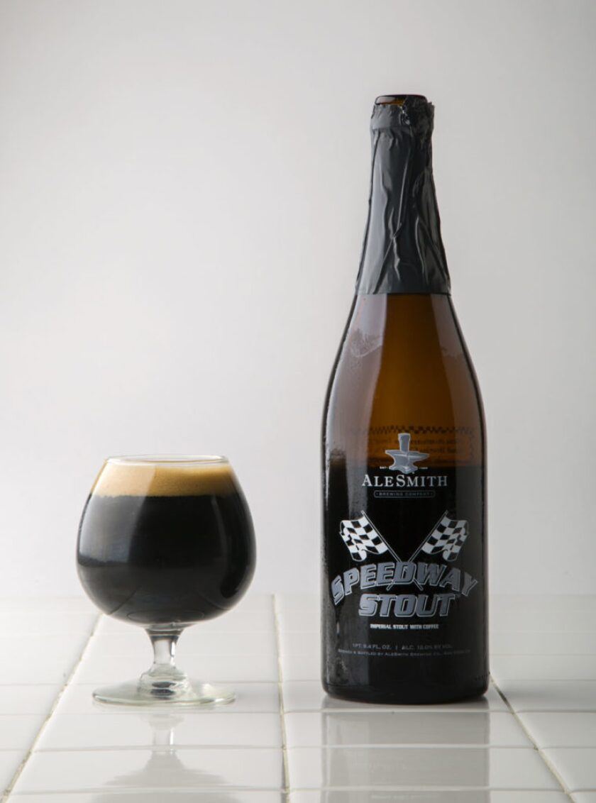 Alesmith's Speedway Stout,  one of five San Diego beers that have changed the world.
