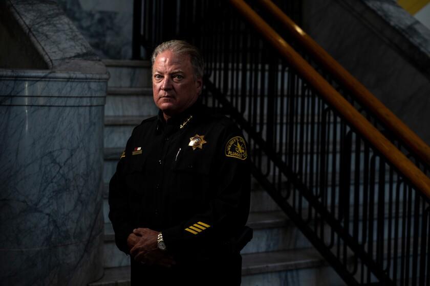 Plumas County Sheriff-Coroner Greg Hagwood