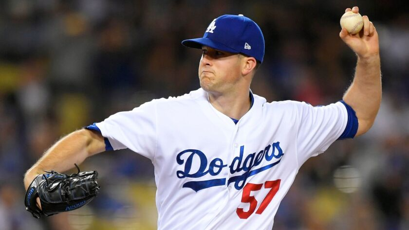 Dodgers pitcher Alex Wood struck out 11 batters in five innings against Pittsburgh on May 8.
