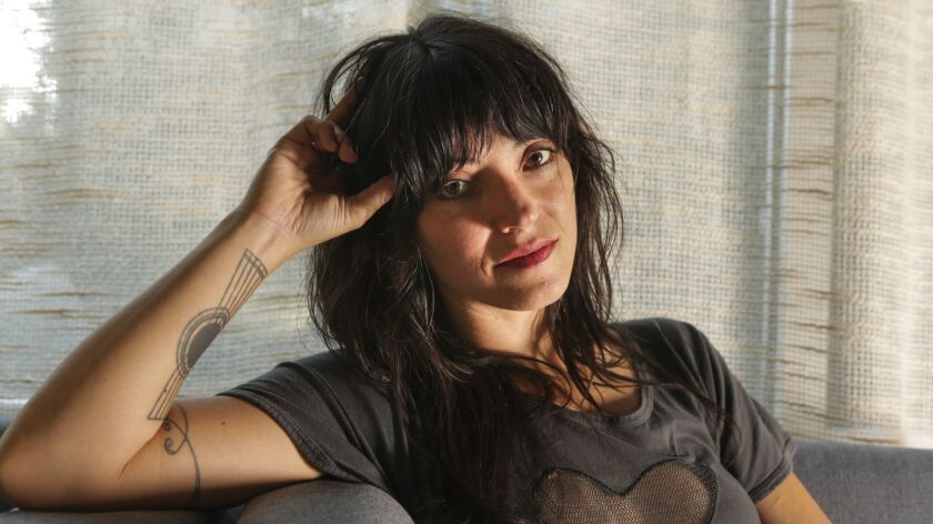 "Singer-songwriter Sharon Van Etten photographed in Los Angeles in October. Her new album, ""Remind Me Tomorrow,"" was released Jan. 18."