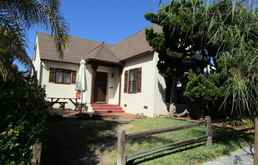 San Diego Historical Resources Board members designated the Webb Van Horn Rose/Charles Salyers House in La Jolla as historic.