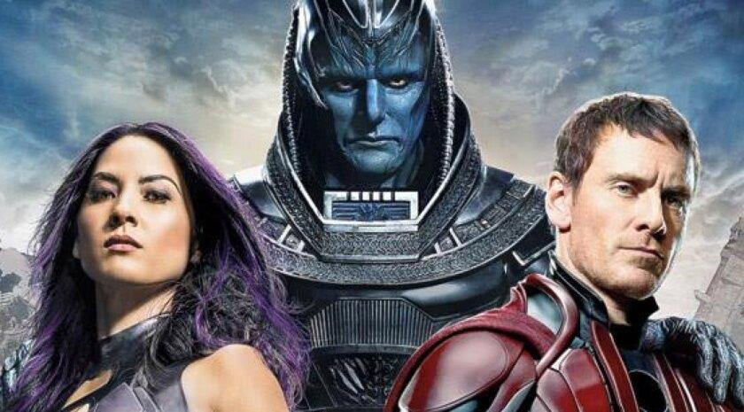 "Entertainment Weekly cover showcases first look at Oscar Isaac as En Sabah Nur (aka Apocalypse) from ""X-Men: Apocalypse."""