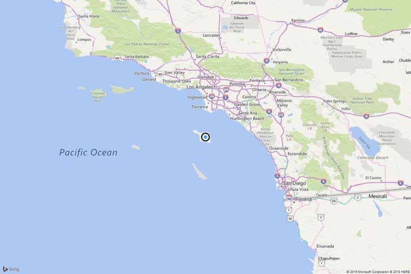 Earthquake: 2.5 quake strikes near Avalon, Calif.