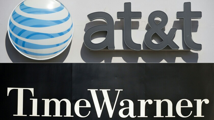 A deal with Time Warner would turn telephone giant AT&T into the nation's largest entertainment company, surpassing Walt Disney Co. and Comcast Corp.