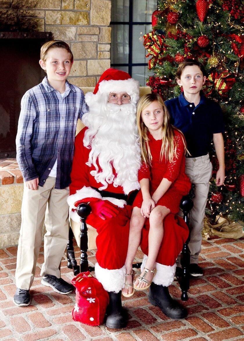 RSF Golf Club hosts Santa Claus