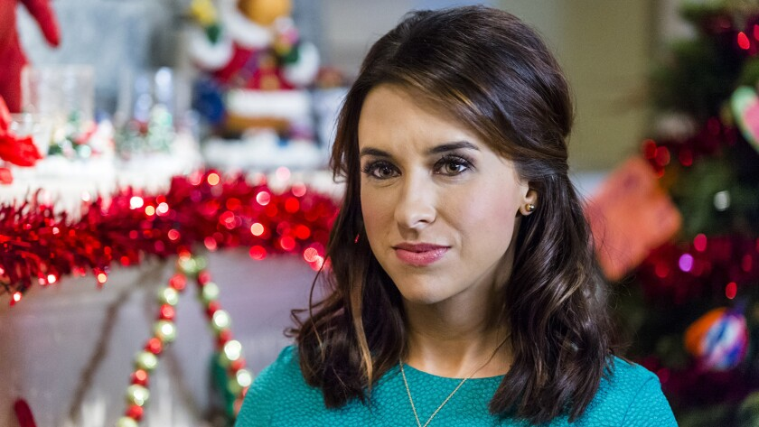 "Lacey Chabert gets a ""Family for Christmas"" in this new Hallmark Channel movie."
