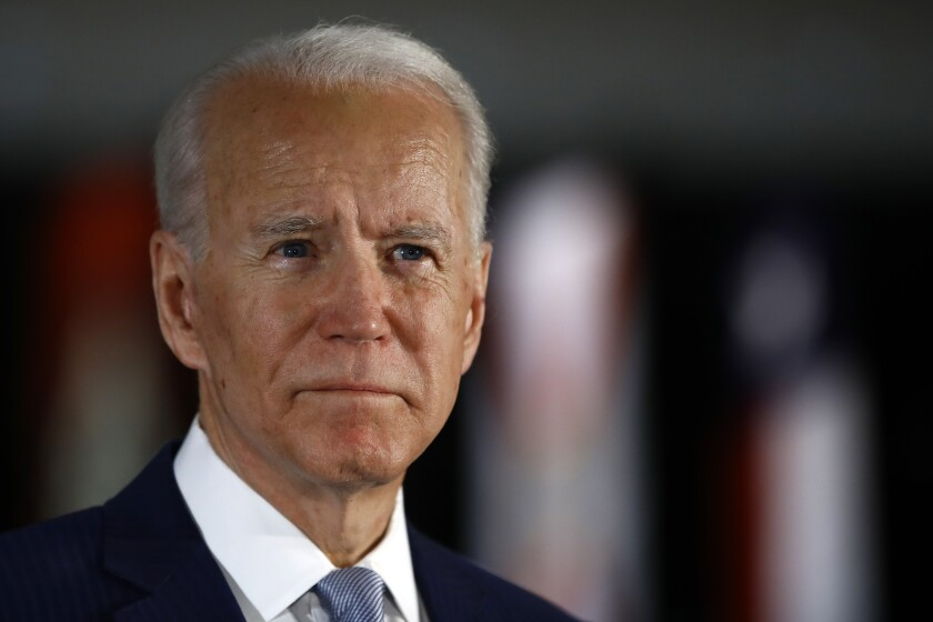 Former Vice President Joe Biden is escalating his criticism of how President Trump has handled the coronavirus crisis and the economic fallout.