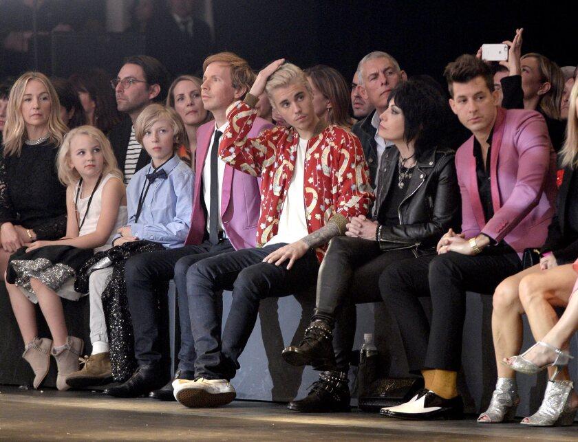Saint Laurent Fashion Show - Runway - Hedi Slimane