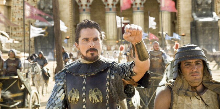 """Christian Bale in """"Exodus: Gods and Kings"""""""
