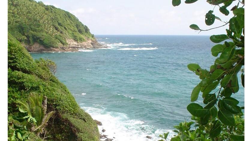 Dominica island.
