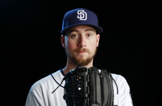 Padres LHP Kyle McGrath strikes out two in MLB debut