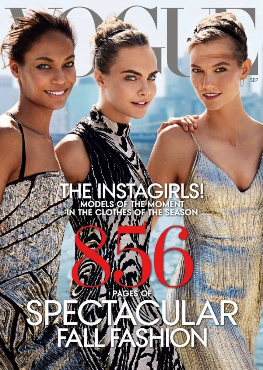 Vogue's September 2014 issue