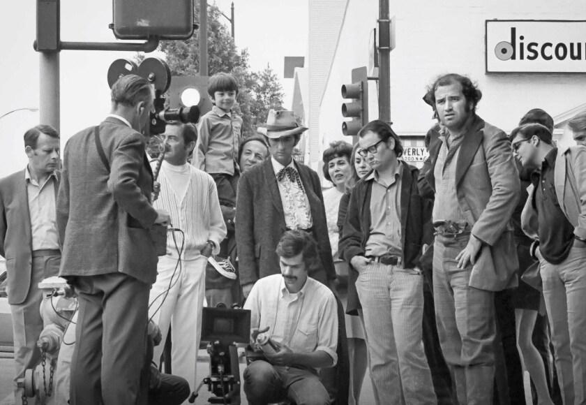 "On the set of Terrence Malick's 1970 AFI thesis film, ""Lanton Mills."""