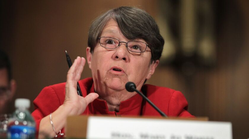 Mary Jo White, former chair of the Securities and Exchange Commission, has been hired to lead CBS' investigation into allegations of misconduct.