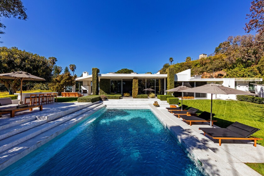 Home of the Week | Beverly Hills masterpiece exudes glamour of Old Hollywood
