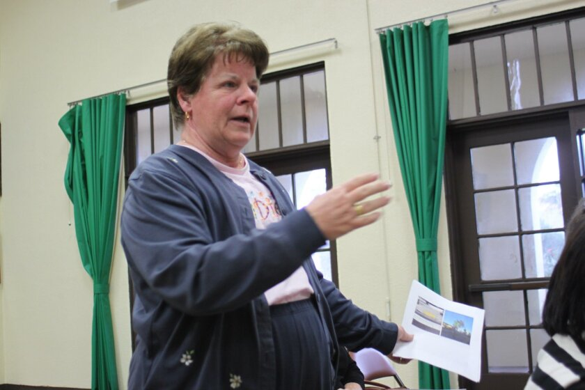 Sally Miller requests changes be made around the Fay Avenue Bike Path to improve safety.
