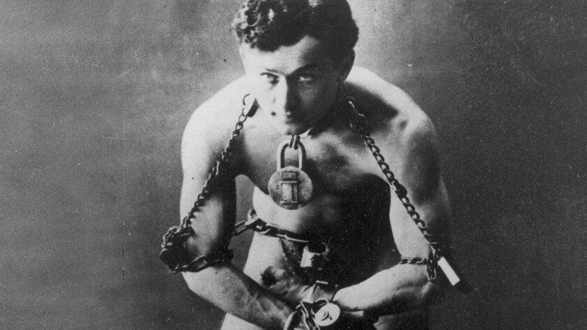 Halloween seances try to contact Harry Houdini.