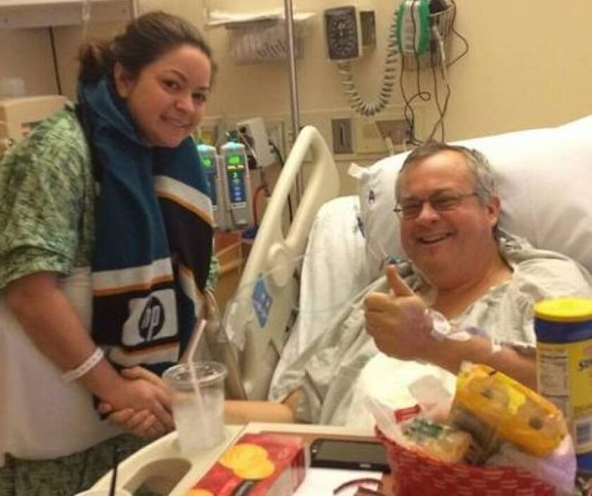 Emory Fuqua's kidney was removed and sent to Colorado on the same day that Mike Atkinson received his kidney from Glenn Millar in a chain of kidney exchanges.