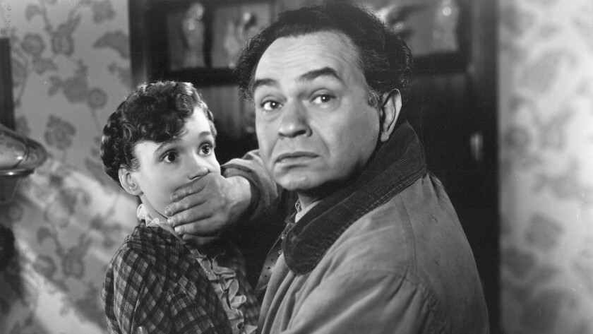 The Red House (1947) Directed by Delmer Daves Shown from left: Allene Roberts, Edward G. Robinson