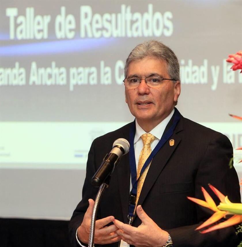 El administrador de la AIG y actual presidente de la Red GEALC, Irvin Halman. EFE/Archivo