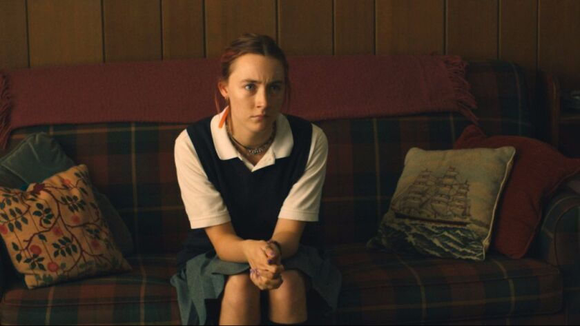 A rebellious young woman (Saoirse Ronan) navigates the pressures and constraints of Catholic school