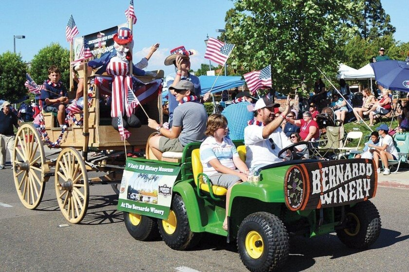 For 46 years, Rancho Bernardo has celebrated Independence Day with the Spirit of the Fourth parade.