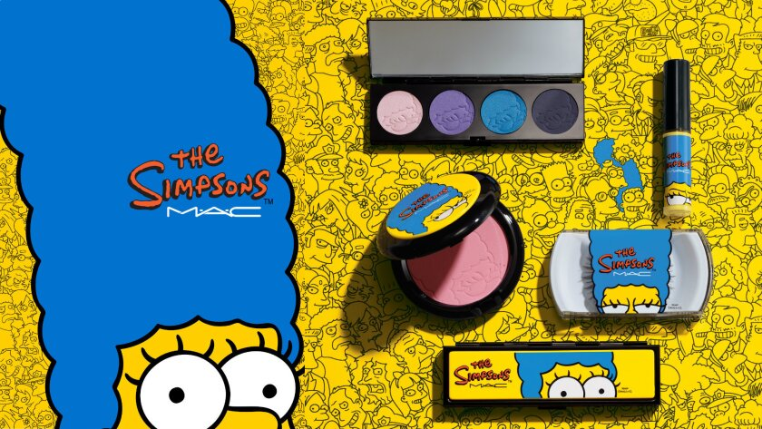 """MAC """"The Simpsons"""" Cosmetics Collection"""