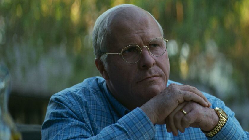 "Christian Bale as Dick Cheney in Adam McKay?s ""VICE,"" an Annapurna Pictures release. Credit: Annapur"