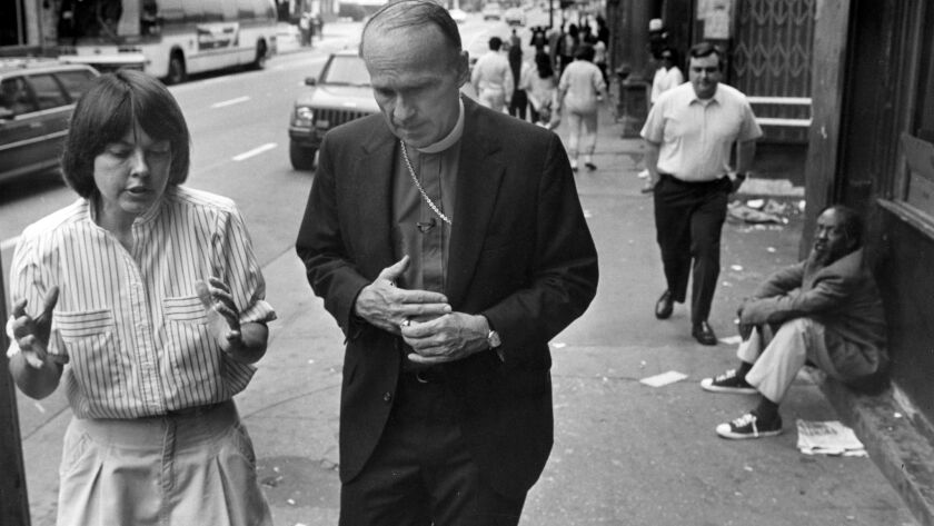 LOS ANGELES CA JUNE 19, 1988 -- The Rt. Rev. Frederick Borsch, bishop of the Episcopal Diocese of L