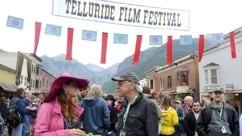The Opening Night Feed at the 2013 Telluride Film Festival. This year's edition kicks off Friday.