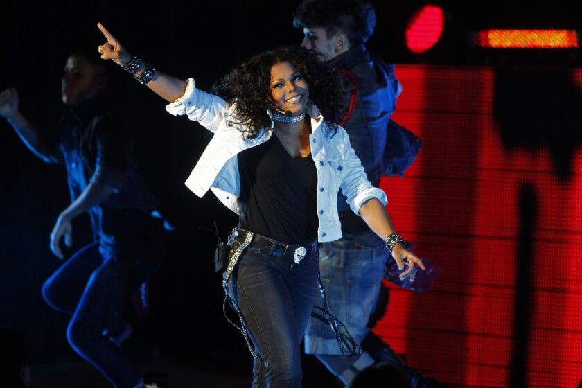 Janet Jackson performs at the Greek Theatre in 2011.