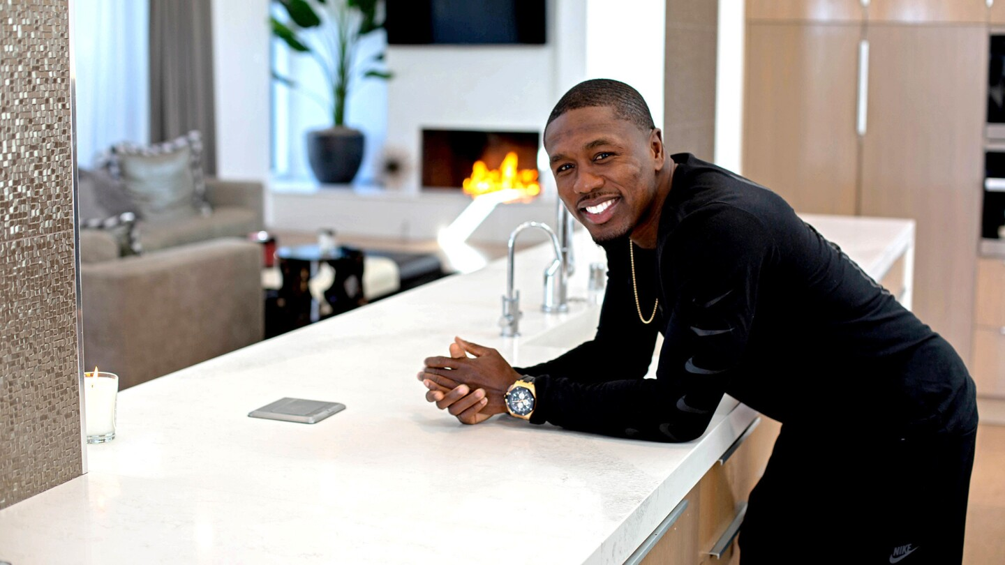 My Favorite Room | Boxer Andre Berto serves knockout meals in his kitchen