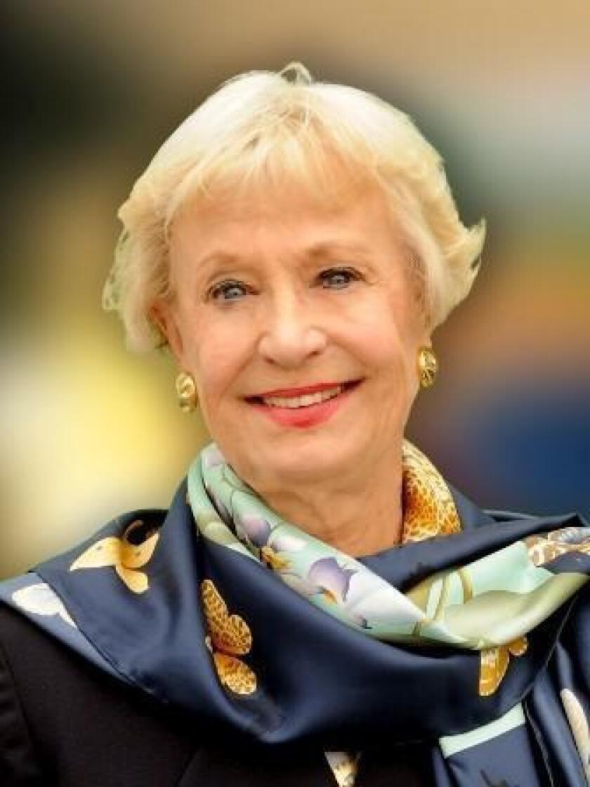 Sally Fuller, La Jolla Woman's Club member