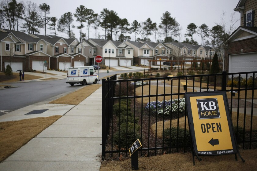 Just as millenials are finally ready to buy, the housing market has the fewest homes available for sale on record. And those that are for sale are increasingly priced at values inaccessible to first-time buyers. This neighborhood is in Cary, N.C.