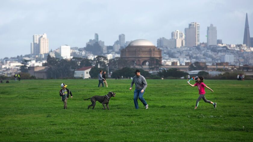 Crissy Field in San Francisco's Golden Gate National Recreation Area is easy to get to and offers fr