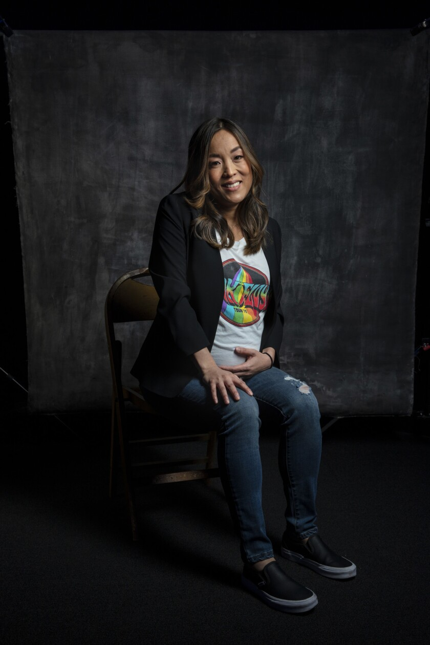 HOLLYWOOD, CA --MARCH 24, 2019 -- Audrey Chon an executive producers on Jordan Peele's CBS re-boot o