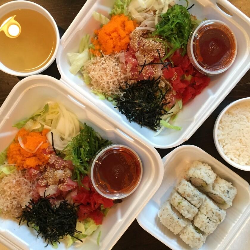 Misoya Rockin' Sushi's hoedoebap