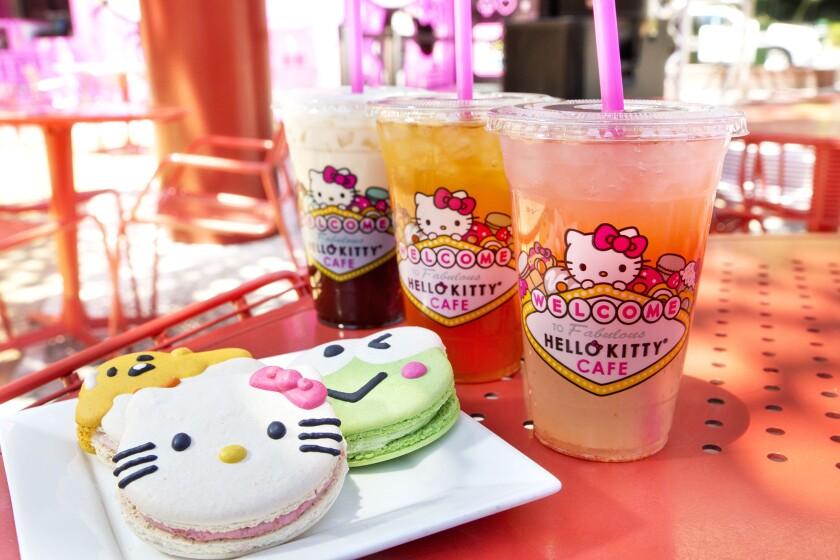 The Hello Kitty Cafe says hello to Las Vegas.