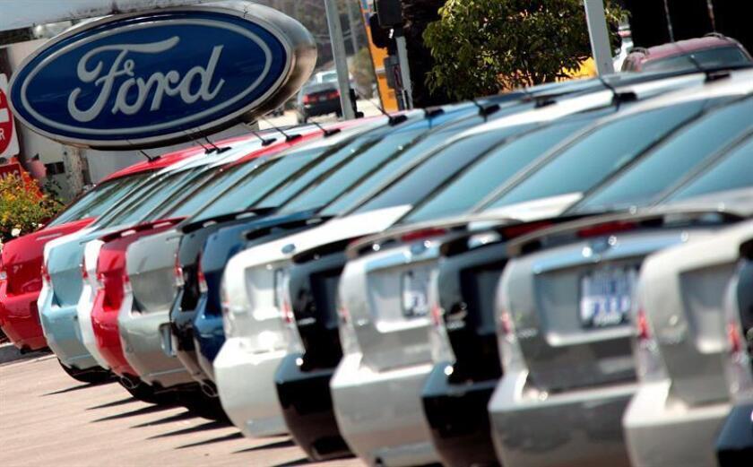 El Grupo Ford vendió 218.504 vehículos en el país en agosto, lo que supone un 4,1 % más que en el mismo mes del año pasado, informó hoy el propio fabricante. EFE/Archivo
