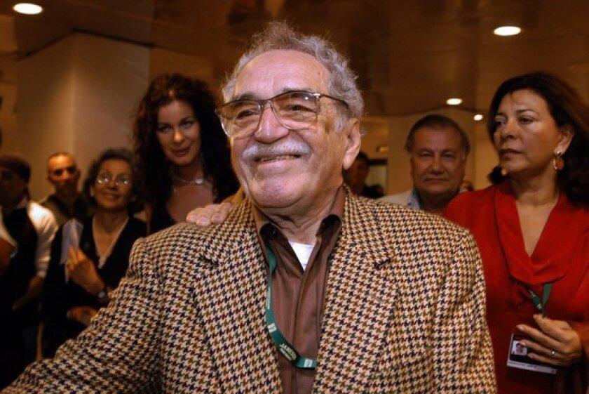 Gabriel Garcia Marquez in 2006.