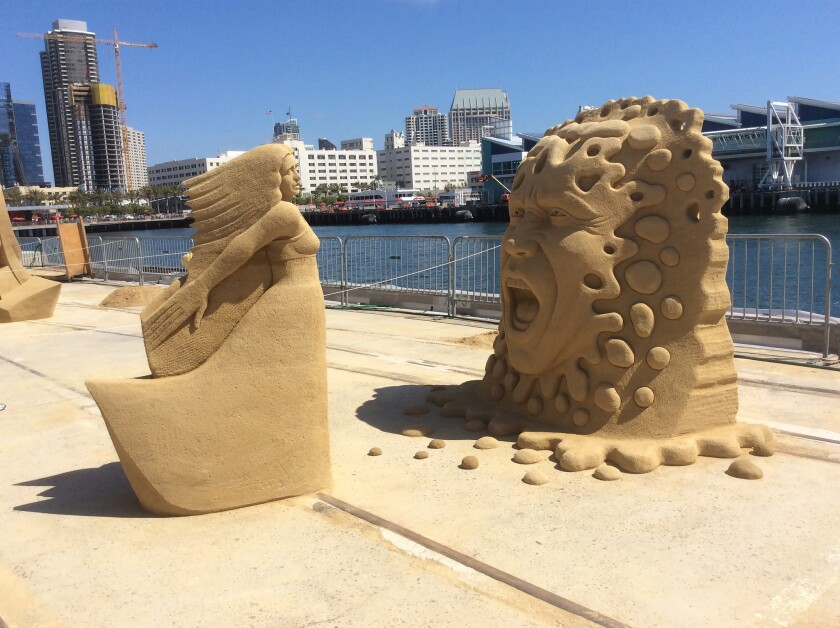 TheU.S. Sand Sculpting Challenge brings artists from all over the world.