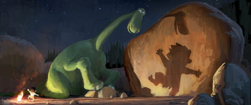 "Pixar's ""The Good Dinosaur."""