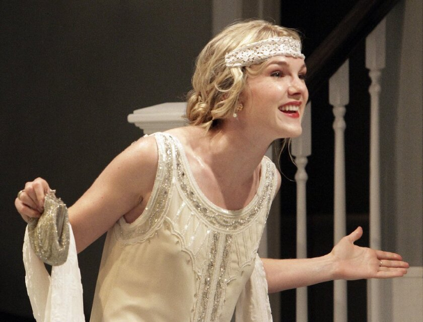 "Lily Rabe stars Julie in ""Miss Julie"" at Geffen Playhouse."