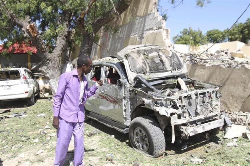 """El ejército mató este martes a cuatro combatientes del grupo terrorista Al Shabab durante un ataque aéreo ejecutado """"en defensa propia"""" en Somalia, informó hoy el mando militar para África (Africom). EFE/Archivo"""